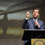 Mayor Andy Berke delivering his 2015 State of the City Address